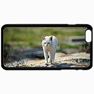 Fashion Unique Design Protective Cellphone Back Cover Case For iPhone 6 Case Cat Black