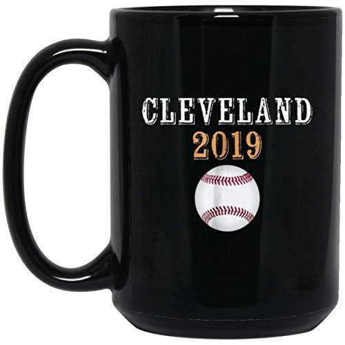 Cleveland Hometown Indian 2019 15 oz. Black Mug