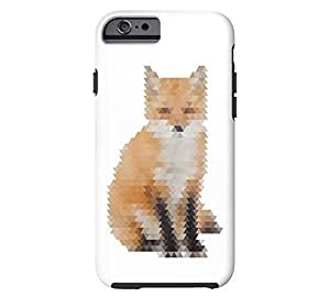 Abstract Fox iPhone 5s White Tough Phone Case - Design By FSKcase?