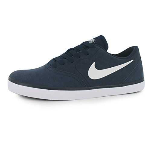 Nike SB Check Zapatillas para hombre azul marino/blanco Casual zapatillas zapatos calzado, azul y blanco, (UK8) (EU42.5) (US9)