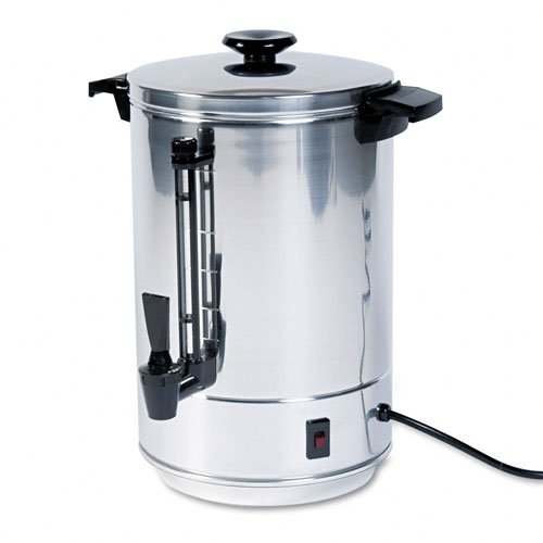 Aluminum Drip Coffee Maker - West Bend 58055R Commercial Aluminum Coffeemaker with Non-Drip Spigot, 55-Cup (Discontinued by Manufacturer)