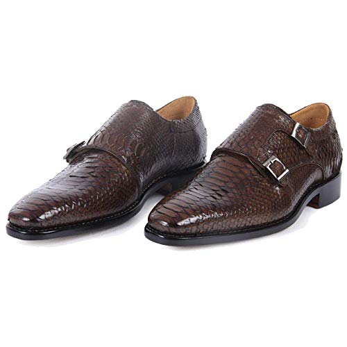Leather End Dating High Handmade Goodyear Shoes Banquet Men's Brown xYvvwd7qO