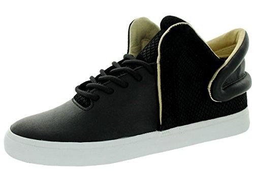 Supra Men's Falcon Black/White Skate Shoe 10.5 Men US