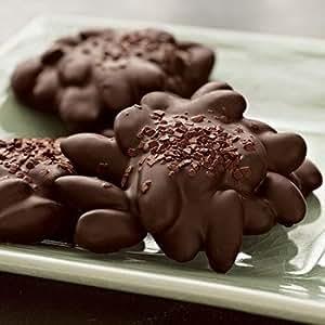Dark Chocolate Almond Caramel Clusters