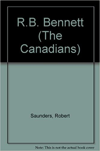 R. B. Bennett (The Canadians), Saunders, Robert
