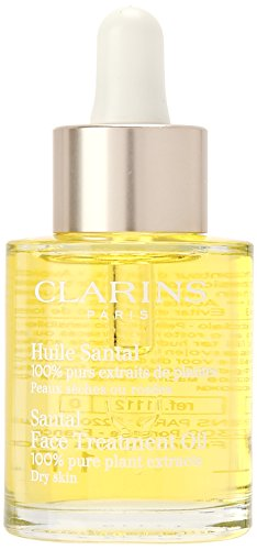 Clarins Santal Face Treatment for Unisex, Oil to Dry Skin, 1 Ounce