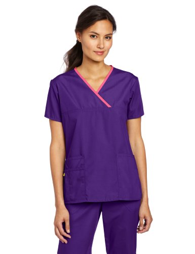 grape scrub top - 9
