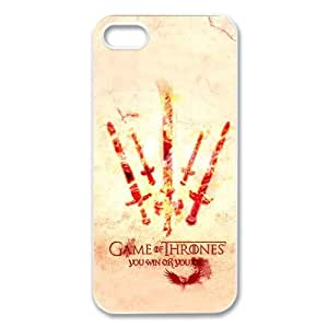 Classic Game of Thrones TV Play Series Customized Special DIY Hard Best Case Cover for iPhone 5 5S