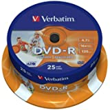 Verbatim 43538 - Pack de 25 DVD+R