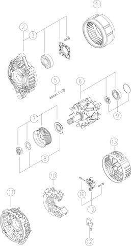 Amazon Com New Genuine Oem Alternator For Caseih Tractors W 4 273