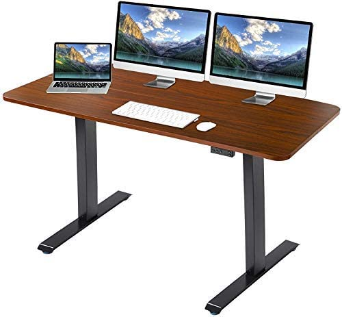 Best modern office desk: Grepatio Electric Adjustable Standing Desk