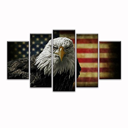 Eagle American Flag - 1