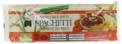 Pastariso All Natural Brown Rice Spaghetti, 1-Pound (Pack of 6)
