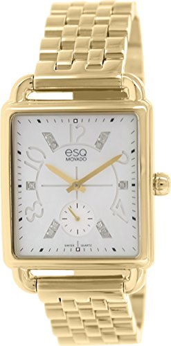 Esq Women's Origin 07101415 Gold Stainless-Steel Swiss Quartz Watch