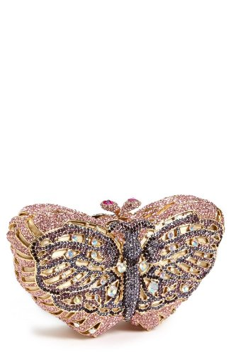 Natasha Couture Butterfly Clutch
