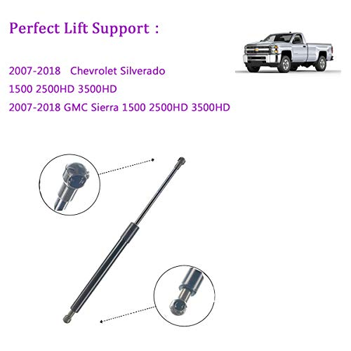 Tailgate Assist Shock Lift Support For Chevrolet Silverado 1500 2500 HD 3500 HD GMC Sierra Truck Pickup