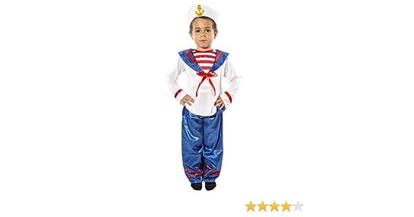 Costumizate! Disfraz de Marinero para niño Talla 7-9 Especial para ...
