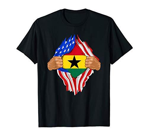 Ghanaian Blood Inside Me T-Shirt | Ghana Flag Gift