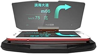 BephaMart HUD Head Up Display Coche Celular GPS Navegación Imagen Reflector Soporte Soporte: Amazon.es: Electrónica