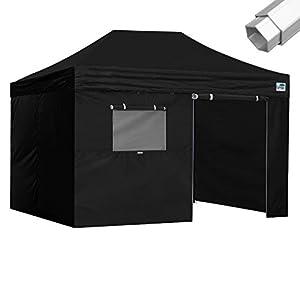 Eurmax 10 x 15 Professional Ez Pop up Canopy Tent Full Aluminum Frame with 4 Walls and Roller Bag  sc 1 st  Amazon.com & Amazon.com : Eurmax Pro 10x15 Pop up Canopy Outdoor Tent W/4 Walls ...