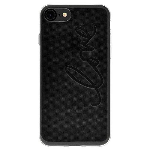 """Amzer Coque en gel souple transparent """"Love en TPU pour Apple iPhone 6Plus/6S Plus"""