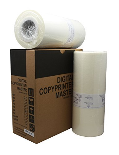 Two Riso S-4250 Compatible A4 Size Master Rolls for RZ an...