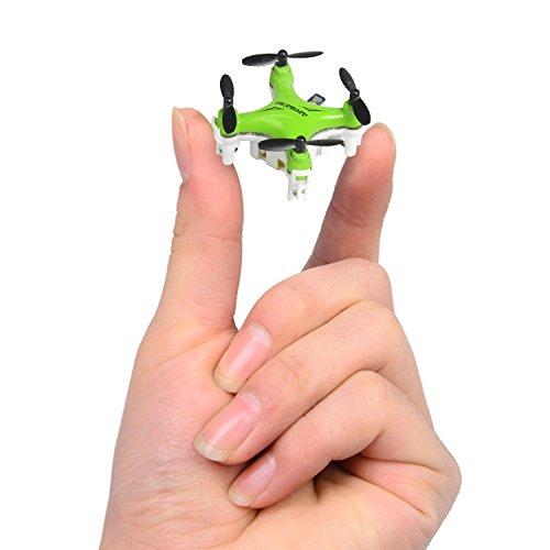 Successory FY804 Nano Drone Mini 2.4G 4CH RC Quadcopter Mini RC Aircraft Green