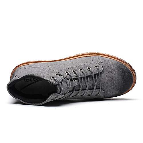 Eu Pour shoes Xiazhi Gris Gris Bottes 39 Homme 0TZwqxUwR