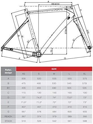 Dedacciai Strada Vertigine - Marco para Bicicleta de Carretera ...