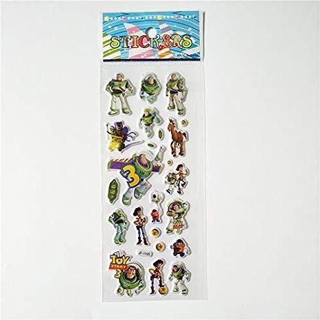 Pegatinas Impermeables 6 Hojas 3D Toy Story Temporada 4 Puffy Fun ...