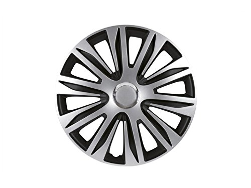 Silver Double Lacquered ABS Petex Wheel Trim Set RB547515/Nardo 15/Inch
