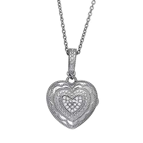 With You Lockets Sterling Silv