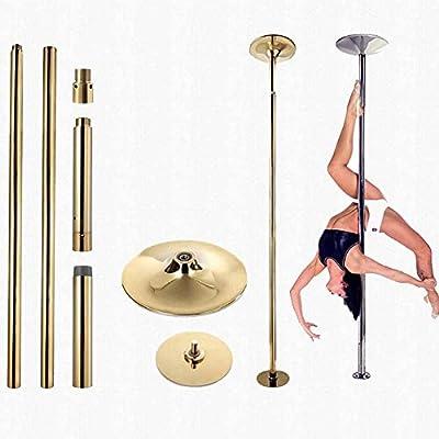 DSYYF Kit de bastón de Baile Profesional de 45 mm Spinning y ...