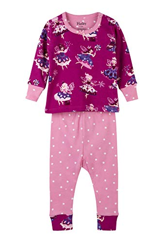 Hatley Baby Girls Organic Cotton Pajama Sets, Fairy Princess 3-6 Months