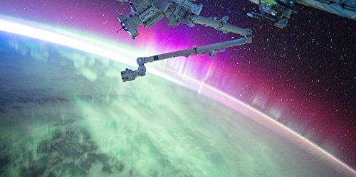 Planet Aurora - 2ft x 4ft Drop Ceiling Fluorescent Decorative Ceiling Light Cover Skylight Film