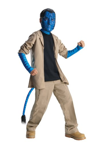 Avatar Child's Deluxe Costume And Mask, Jake Sully  (Sully Costume For Kids)