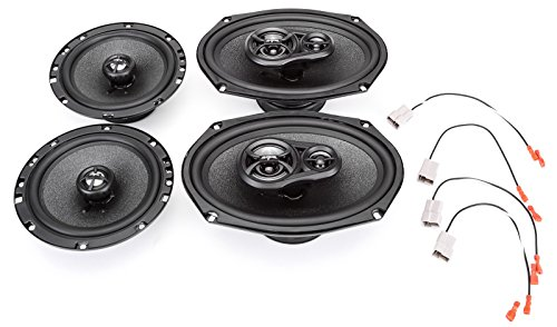 2007-2011 Toyota Yaris with Power Package Complete Factory Replacement Speaker Package by Skar ()