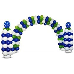Zephyr Solutions Deluxe Latex Balloon Arch & Column Kit