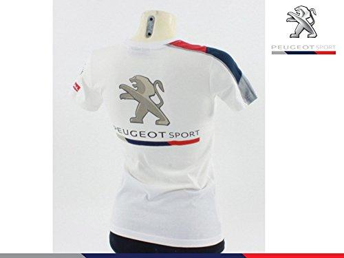 Peugeot Sport - Camiseta - para Mujer Blanco X-Large: Amazon.es ...