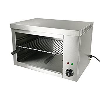 Countertop Commercial Electric Salamander Broilers 2200W Stainless Steel  22.4x15.3x14.5 Inch