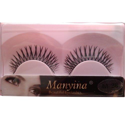 So Beauty Manyina New 10 Pairs Natural Black Long Fake False Eyelashes Top Quality Eye Lash Makeup M-38