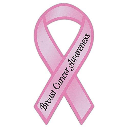 Refrigerator Magnet - Ribbon Awareness Support - Breast Cancer (Pink) - 4