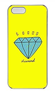 iPhone 5 5S Case Diamond Cover Skin For iPhone 5/5S Cases Transparent