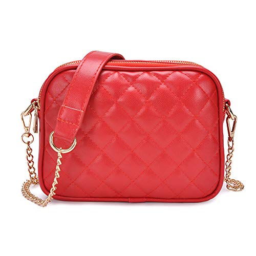 Bag CLassic Designer Bag Small Crossbody Women Bags for Red Quilted Crossbody Quilted pYpwUf