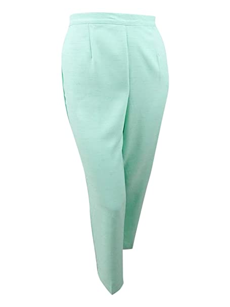 8c7b8c7c2c4 Alfred Dunner Plus Size Roman Holiday Pull-On Pants Proportioned at Amazon  Women s Clothing store