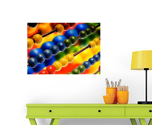 Colorful Toy Wall Decal - 24 Inches W x 17 Inches H - Peel and Stick Removable Graphic