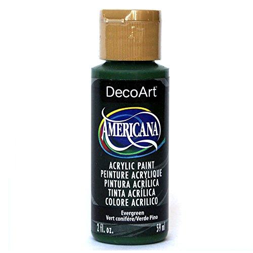 DecoArt Americana Acrylic Paint, 2-Ounce, Evergreen
