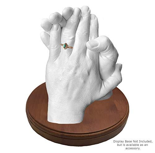 Keepsake Hands LUNA BEAN FAMILY HANDS XL Casting Plaster STATUE Kit Hand Mold