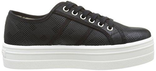 Victoria Basket Cuadros Brillo Plataforma - Zapatillas de deporte Unisex adulto Negro - Noir (10 Negro)