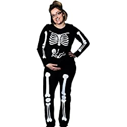 DIY Pregnant Skeleton Maternity Costume